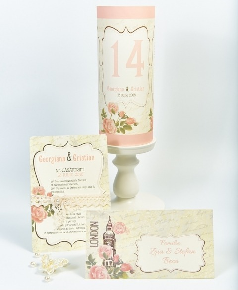 Pachet casatorie -Trandafiri de gradina