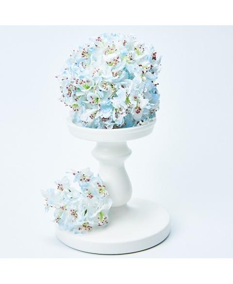 Buchet flori decorative -Azurii