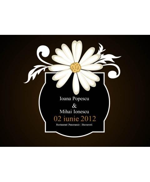 Invitatie electronica interactiva daisy