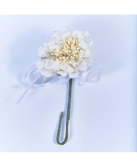 Flori decorative dalie-alba