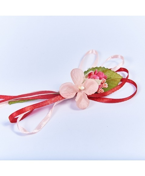 Flori decorative hortensie -corai