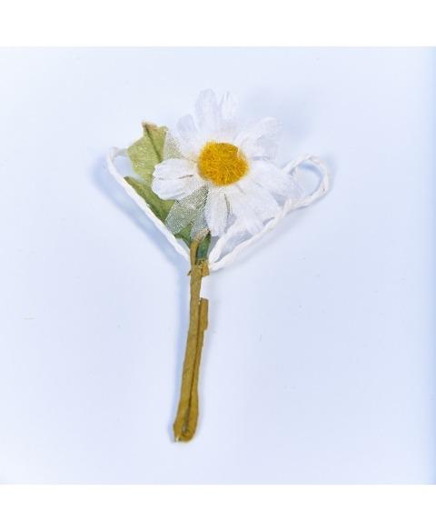 Flori decorative margareta alba H135