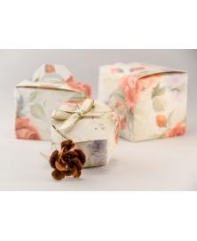 Marturie cutiuta cu trandafir -Esagono