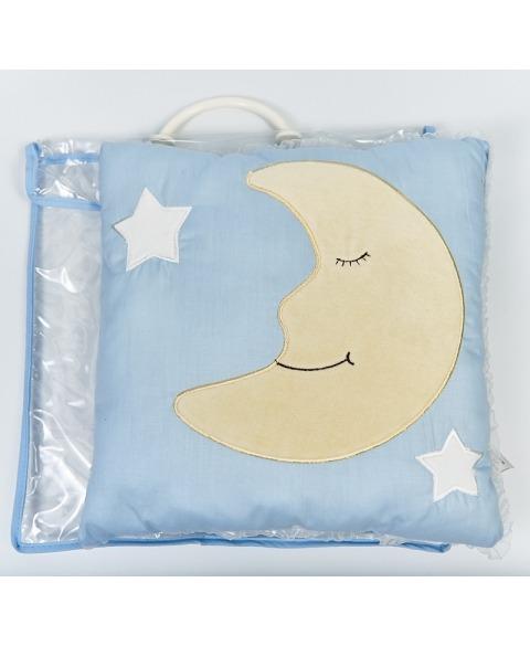 Perna bebe albastru azur