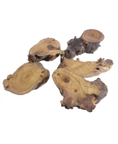 Felii lemn cu forme neregulate
