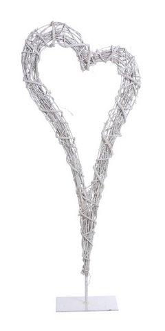 Structura metalica tip inima cu impletitura de nuiele -80