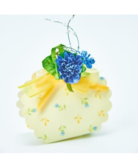 Gerbera decorativa albastra
