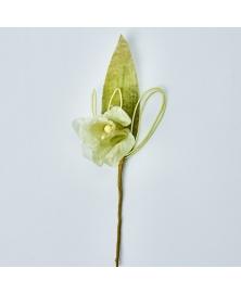 Floare decorativa Crin -Verde salvie
