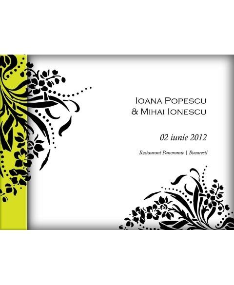 Invitatie electronica interactiva flori nunta moderna