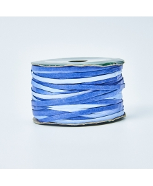 Ribon rafie decorativa albastru azur