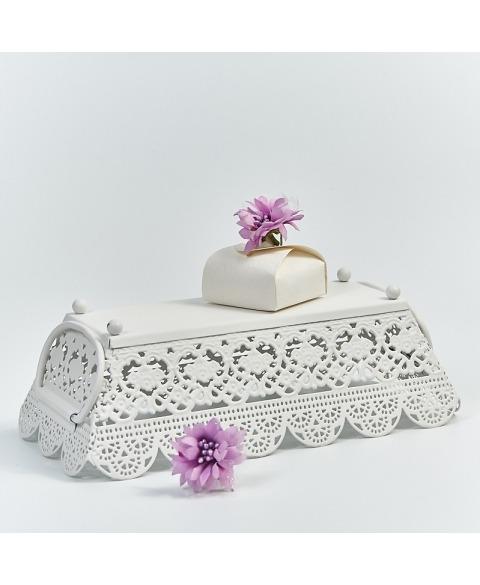 Marturie cutiuta sorgente bianco -Mini Astuccio