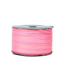 Ribon rafie decorativa roz somon