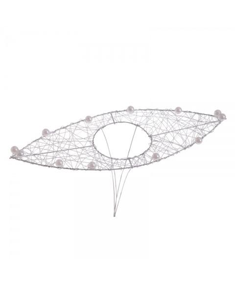 Structura metalica tip frunza cu perlute