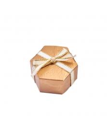 Marturie cutiuta bronz -Esagono