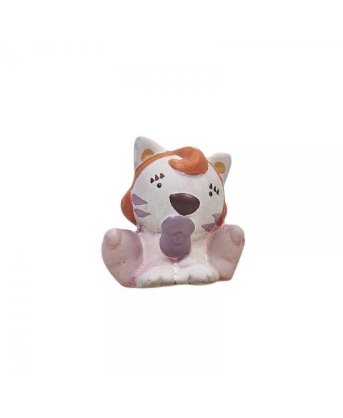 Cutiuta si figurina ceramica baby Tigrit