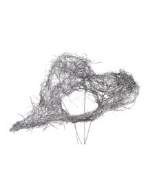 Structura buchet forma inima