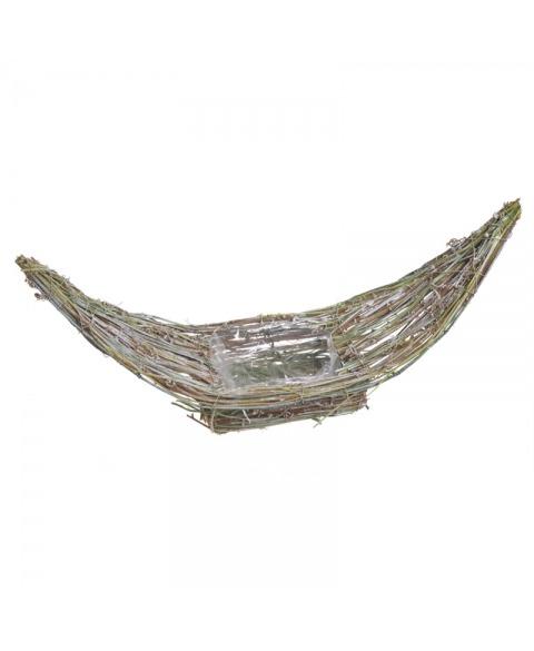 Structura metalica tip barca impletitura de nuiele