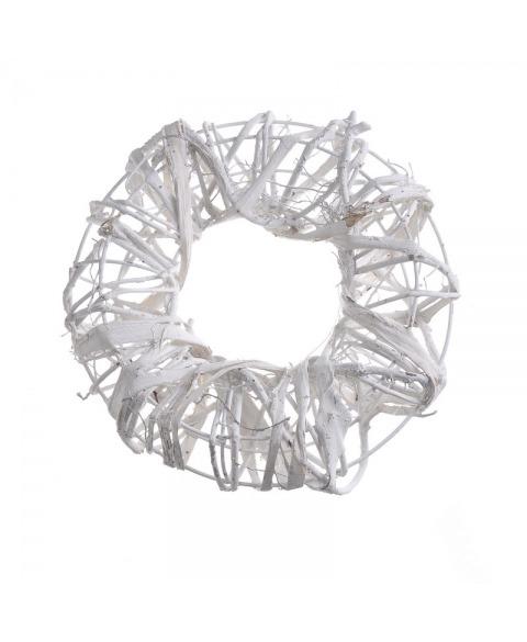 Coronita din structura metalica cu impletitura de nuiele...