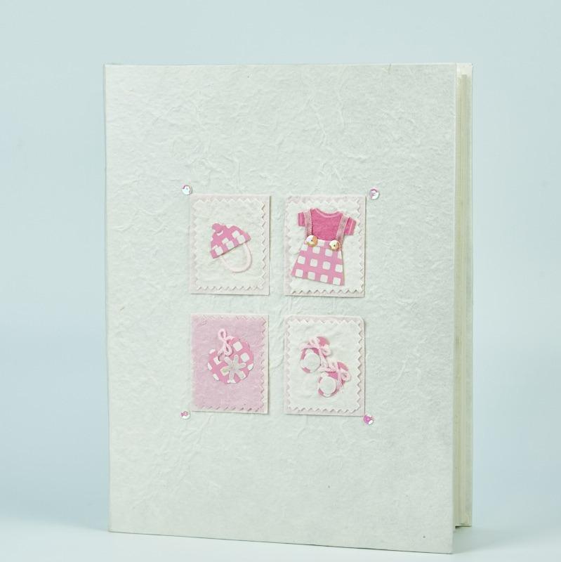 Album foto bebe fetita -roz