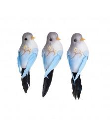 Pasarele decorative albastru pastel