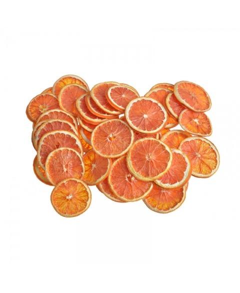 Felii uscate grapefruit rosu
