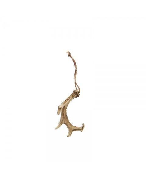 Decoratiune cu aspect ceramic coarne de cerb