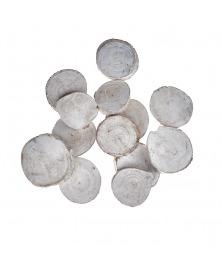 Felii De Lemn Albit 3-9 cm