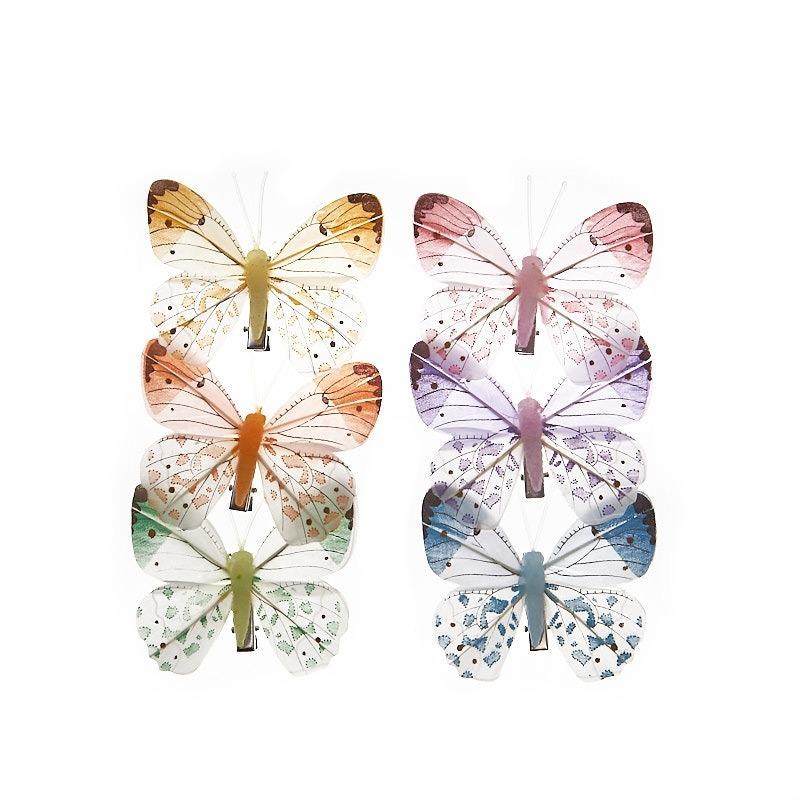 Fluturi Pastel Multicolori