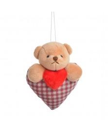 Ursulet Teddy si inima rosie