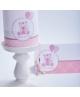 Ursulet de portelan roz