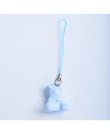 Ursulet de portelan albastru