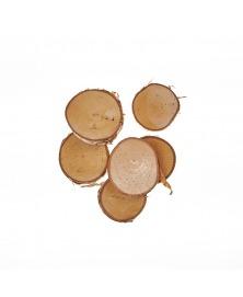 Felii de lemn rotunde 4-6 cm