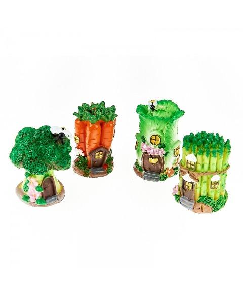 Decoratiune casute legume