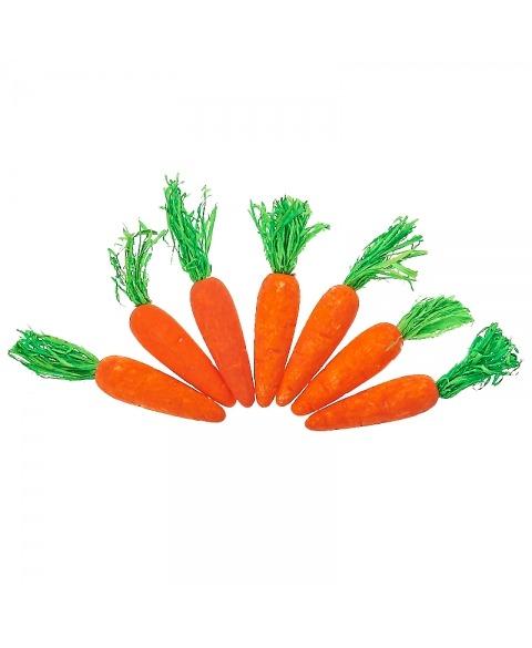 Decoratiune polistiren-morcovi