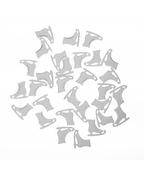 Set patine lemn albite mini
