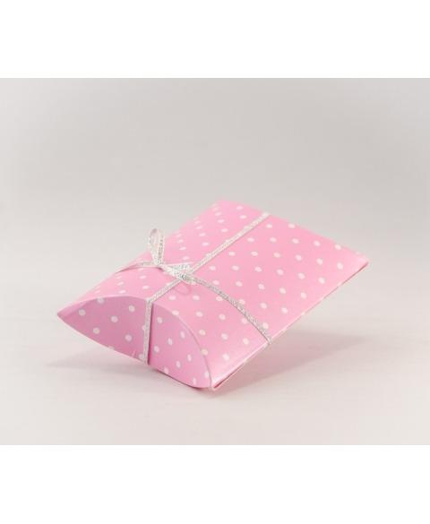 Marturie cutiuta dots roz -Busta