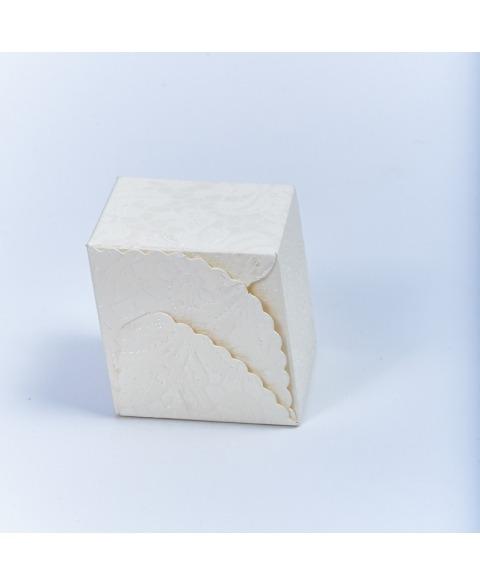 Marturie cutiuta macrame -Rombo