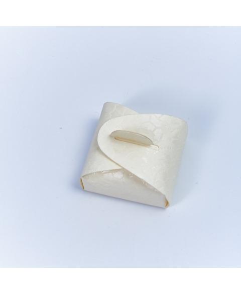 Marturie cutiuta macrame -Mini Astuccio