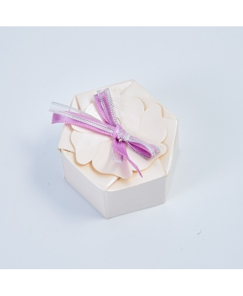 Marturie cutiuta sidef -Esagono petali
