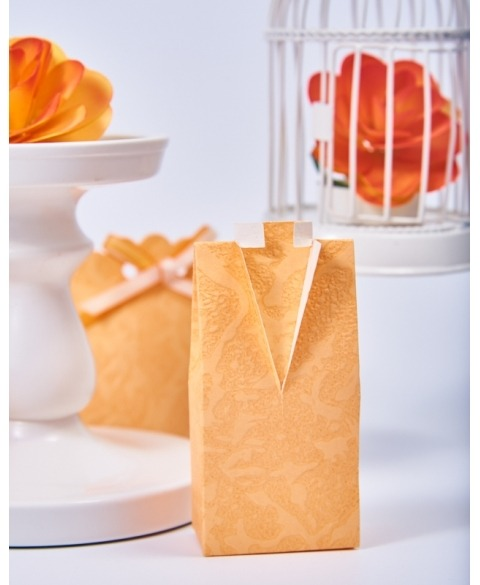 Marturie cutiuta portocaliu piersica -Camicia