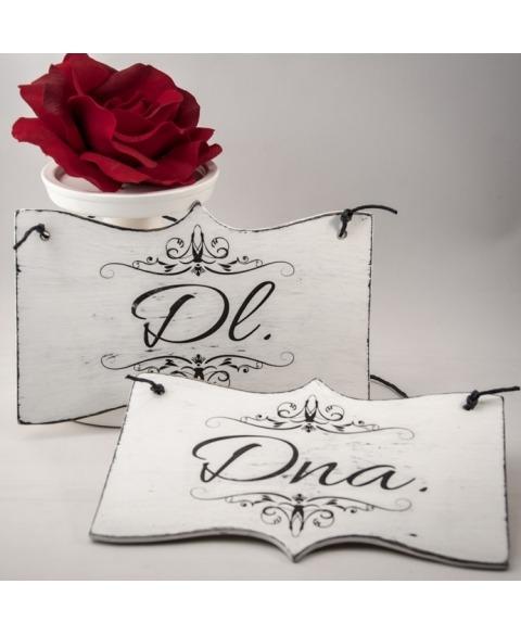 Semn decorativ sedinta foto -Doamna si Domnul
