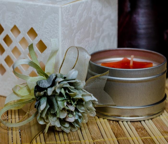 Flori piept -Dalie verde