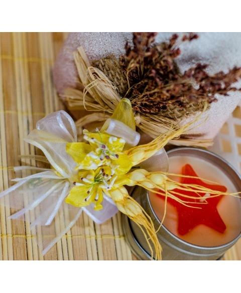 Flori piept -flori si spice galbene