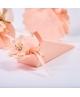 Marturie cutiuta roz cu flori -Cono