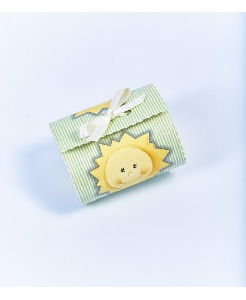 Marturie cutiuta cu soare -Bombon