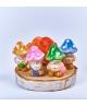 Pitici ciupercuta roz-portocaliu
